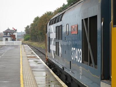 37403, Barrow, 2C45 11.38 to Carlisle - 15/10/16.