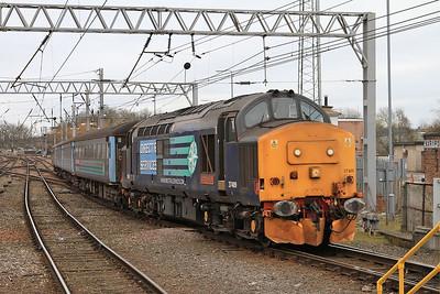 37409 arr Carlisle, 2C33 05.46 ex Barrow - 19/03/16.