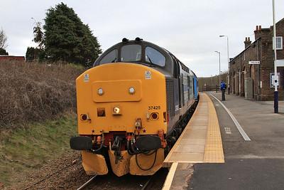 37425 arr Corkickle, 2C41 08.45 Barrow-Carlisle - 19/03/16.