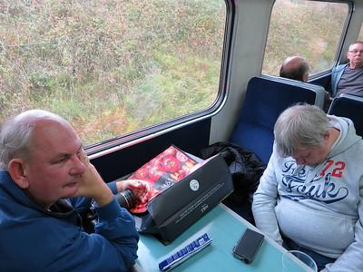 Herr Goodson enjoying the ambiance - 22/10/16.