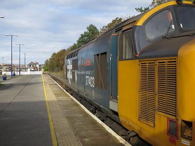 37403, Barrow, on rear of 2C40 08.42 ex Carlisle - 22/10/16.
