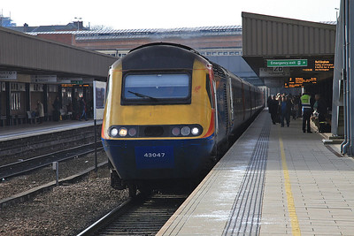 43047 arr Leicester, 1D22 10.15 St.Pancras-Nottingham - 27/02/16.