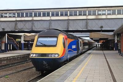 43060, Leicester, 1B28 07.38 Leeds-St.Pancras - 27/02/16.