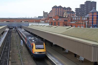 43066 arr Leicester, 1D17 09.15 St.Pancras-Nottingham - 27/02/16.