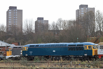 56006, owned by the Class 56 Group, UKRL depot, Leicester - 27/02/16.