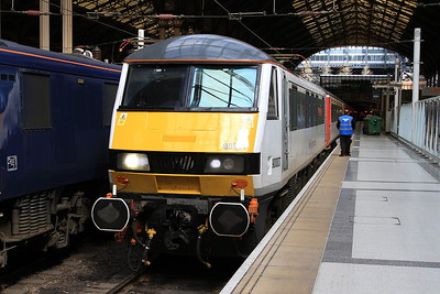 90007, London Liverpool Street, 1P29 10.30 ex Norwich - 04/04/16.