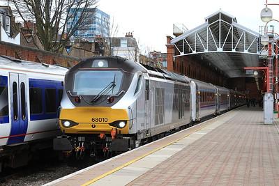 68010, London Marylebone, 1K45 16.15 to Kidderminster - 04/04/16.