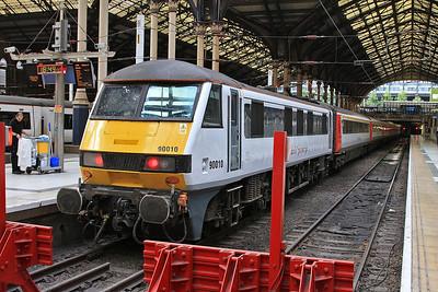 90010, London Liverpool Street, 1P58 19.00 to Norwich - 19/08/16.