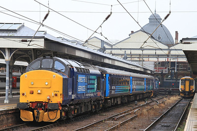 37419 (37405 rear), Norwich, 2P20 12.36 to Great Yarmouth - 19/08/16.