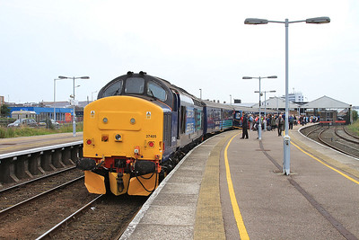 37405 (37419 rear), Great Yarmouth, 2P21 13.17 to Norwich - 19/08/16.
