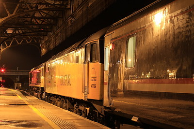Sleeper Move to Perth for 66736 - 20th December 2016