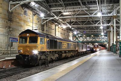 Scottish bash for 68018, 66732 & 66739 - 21st-22nd September 2016
