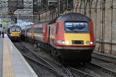 43305 arr Edinburgh Waverley, 1S16 12.00 Kings Cross-Inverness - 21/09/16.