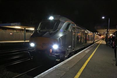 68015, Oxford, 1T54 18.18 ex London Marylebone - 21/02/17.