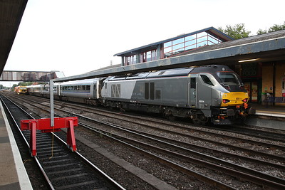 68014, Oxford, 1Y76 20.00 to London Marylebone (temporary buffer stops due to engineering work South of station) - 25/07/17