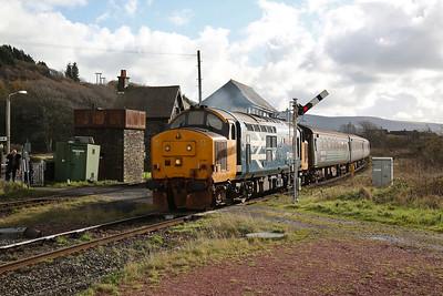 37401 dep Foxfield, 2C45 11.38 Barrow-Carlisle - 04/11/17