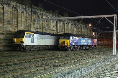 92044 / 57304 stabled at Carlisle - 03/11/17