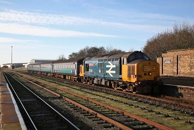 37401 arr Workington, 2C41 08.45 Barrow-Carlisle - 11/11/17.
