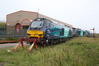 The new order at Sellafield ; 68023, 68001, 68026 - 16/06/17.