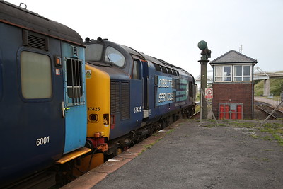 37425, Sellafield, 2C41 14.37 Barrow-Carlisle - 16/06/17.