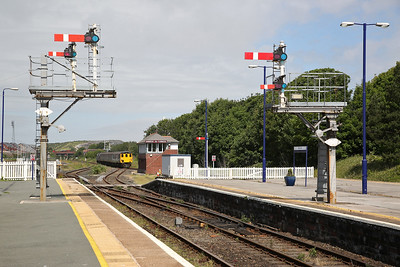 37425 arrives at Barrow on the rear of 2C40 08.42 ex Carlisle - 17/06/17.