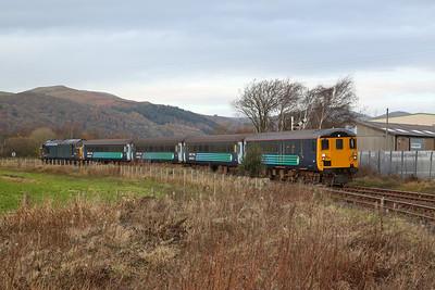 37422 arr Foxfield, 2C48 11.56 Carlisle-Lancaster - 18/11/17.