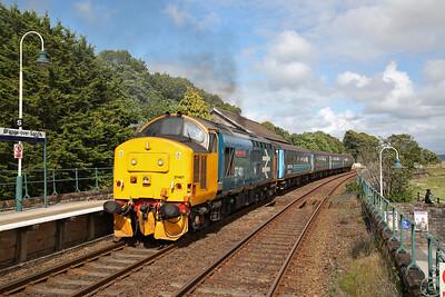 37401 dep Grange over Sands, 2C48 11.56 Carlisle-Lancaster - 29/07/17