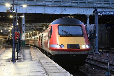 43313, Edinburgh Waverley, 1S16 12.00 London Kings Cross-Inverness - 31/01/17.