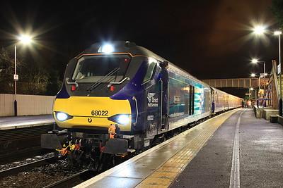 68022, Inverkeithing, 2L69, 17.17 Edinburgh-Cardenden - 31/01/17.