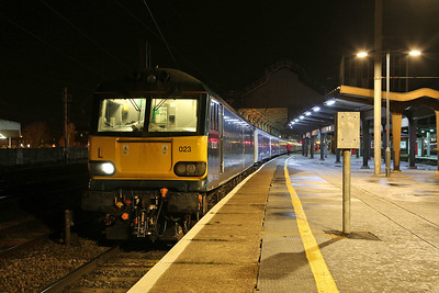 92023, Preston, 1M16 20.45 Inverness-London Euston  - 29/11/18