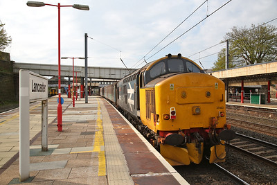 37403 arr Lancaster, on rear of 2C32 05.15 Carlisle-Preston - 01/05/18