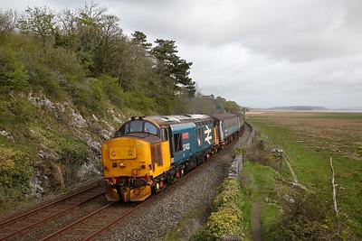 37402 leaving Kents Bank, 2C47 10.03 Preston-Barrow - 03/05/18
