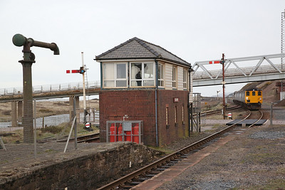 37402 arr Sellafield, on rear of 2C34 14.35 Carlisle-Barrow - 06/04/18