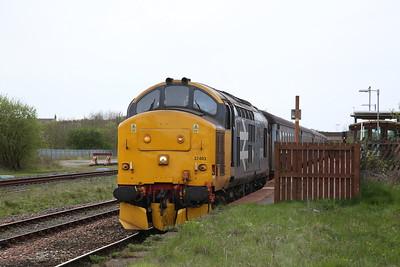 37403, Maryport, 2C49 11.40 Barrow-Carlisle - 27/04/18