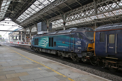 68004, Preston, coupled to the rear of the DBSO on the rear of 2C47 10.03 to Barrow - 27/04/18