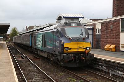 68017, Barrow, 2C47 10.03 ex Preston - 27/04/18