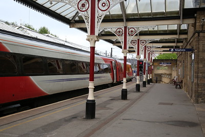 1A13 06.55 to London Kings Cross awaits departure from Skipton - 03/05/19