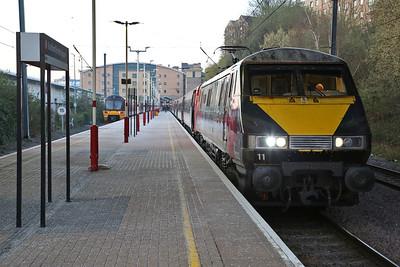 LNER 91s to Bradford, 11th & 12th April 2019