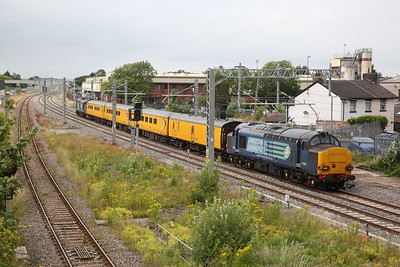 Network Rail test train, 19th July 2019