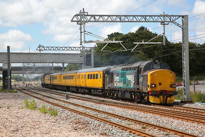 Network Rail test train, 21st June 2019
