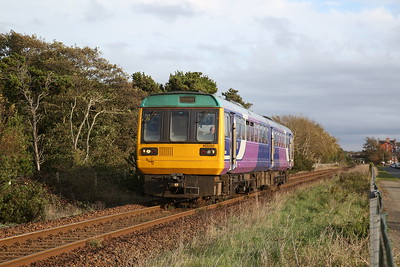 142020 leaving Ansdell & Fairhaven, 2S69 15.35 Preston-Blackpool South - 22/10/19