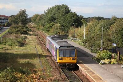 142029 arr Ansdell & Fairhaven 2S58 13.13 Blackpool South-Preston - 17/10/19