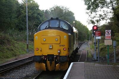 37421, Rhymney, running round - 13/09/19