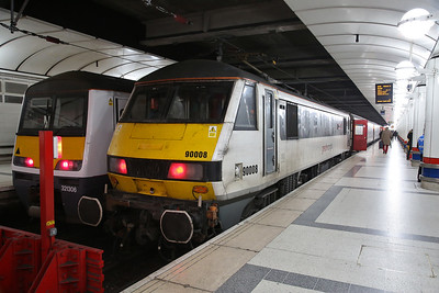 90008, London Liverpool Street, 1P16 09.30 to Norwich - 18/01/19