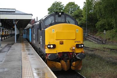 37423 / 37716, Norwich, 2J80 14.55 to Lowestoft - 10/05/19