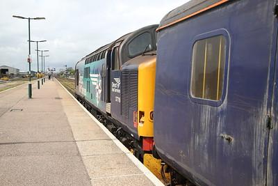 37716, Lowestoft, 2J77 12.57 to Norwich (Vice DMU) - 10/05/19