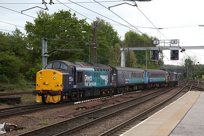 37716 / 37423 arr Norwich, 2P17 11.17 ex Great Yarmouth - 10/05/19
