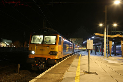92028, Preston, 1M16 20.45 Inverness-London Euston - 14/01/20