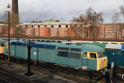 56006 (now for scrap) in the yard at BH awaiting it's fate - 04/12/2011.