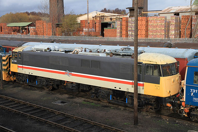 82008 in the yard at BH - 04/12/2011.